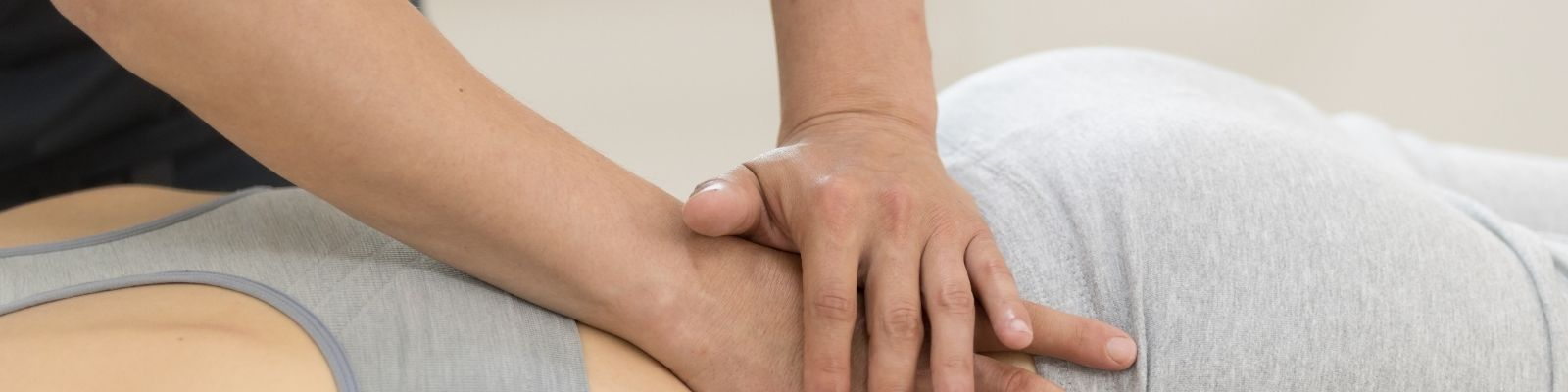 Técnica osteopática para la zona lumbar